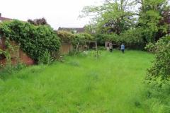 The garden before we began ...